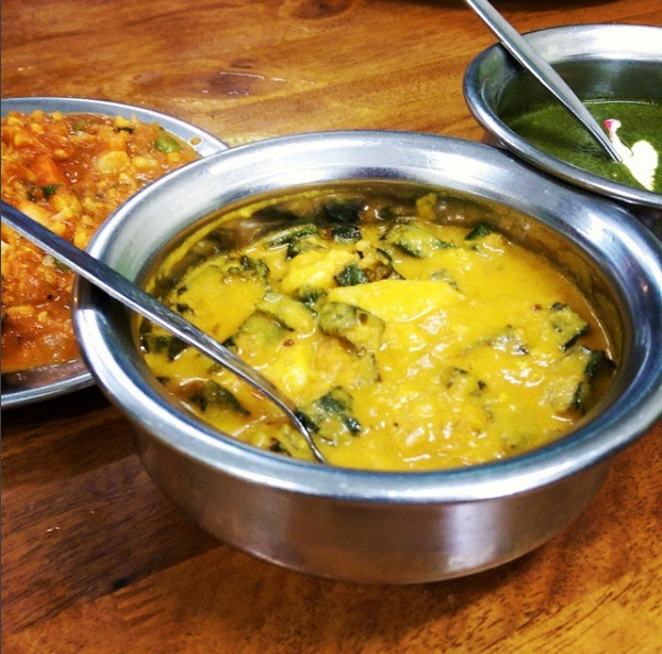pak putra aloo gobi and spinach