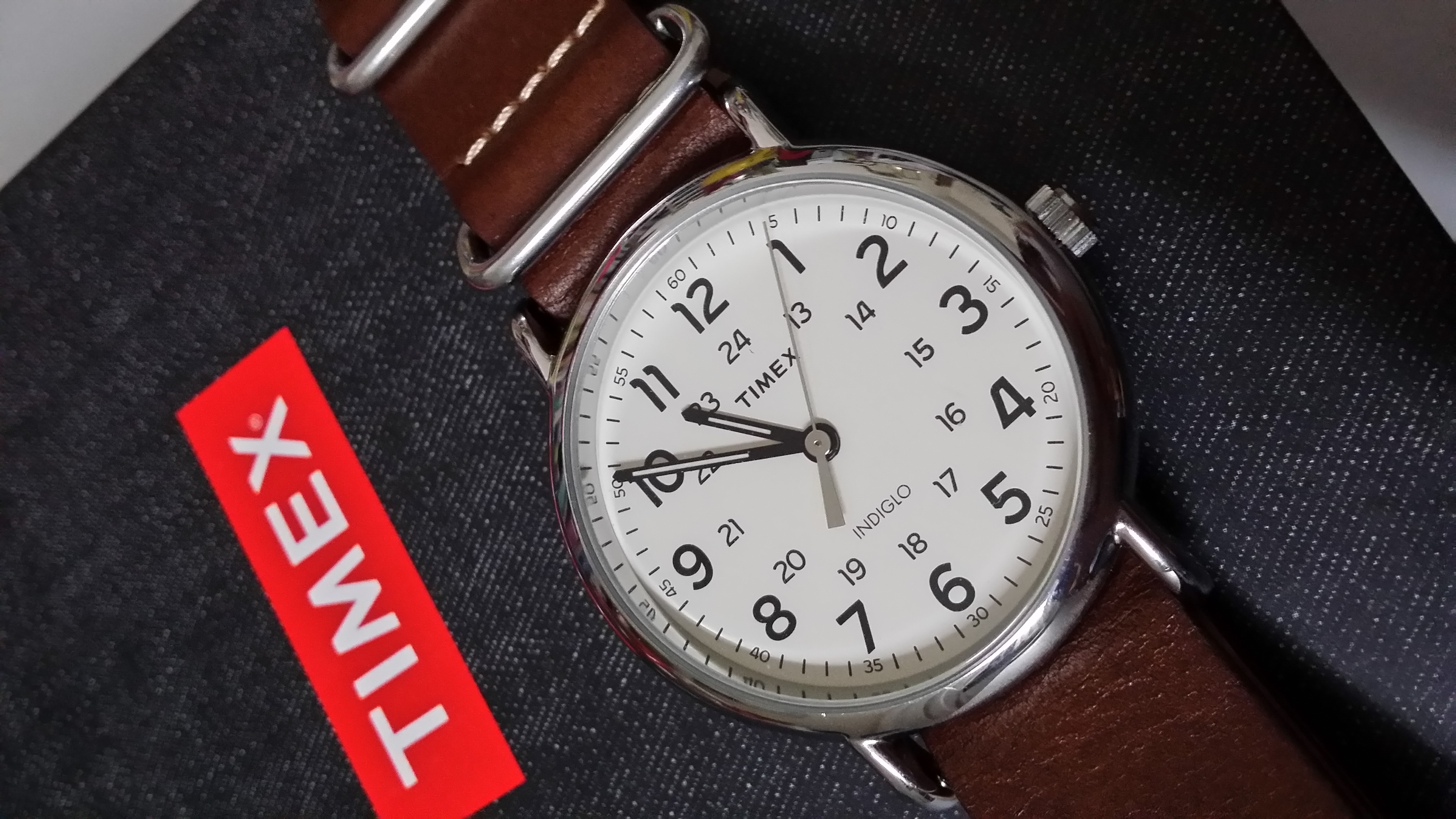 timex unisex weekender indiglo watch review