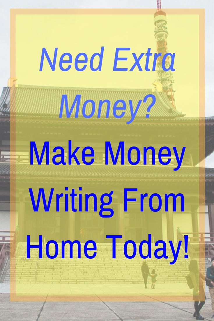 make money writing online 2018