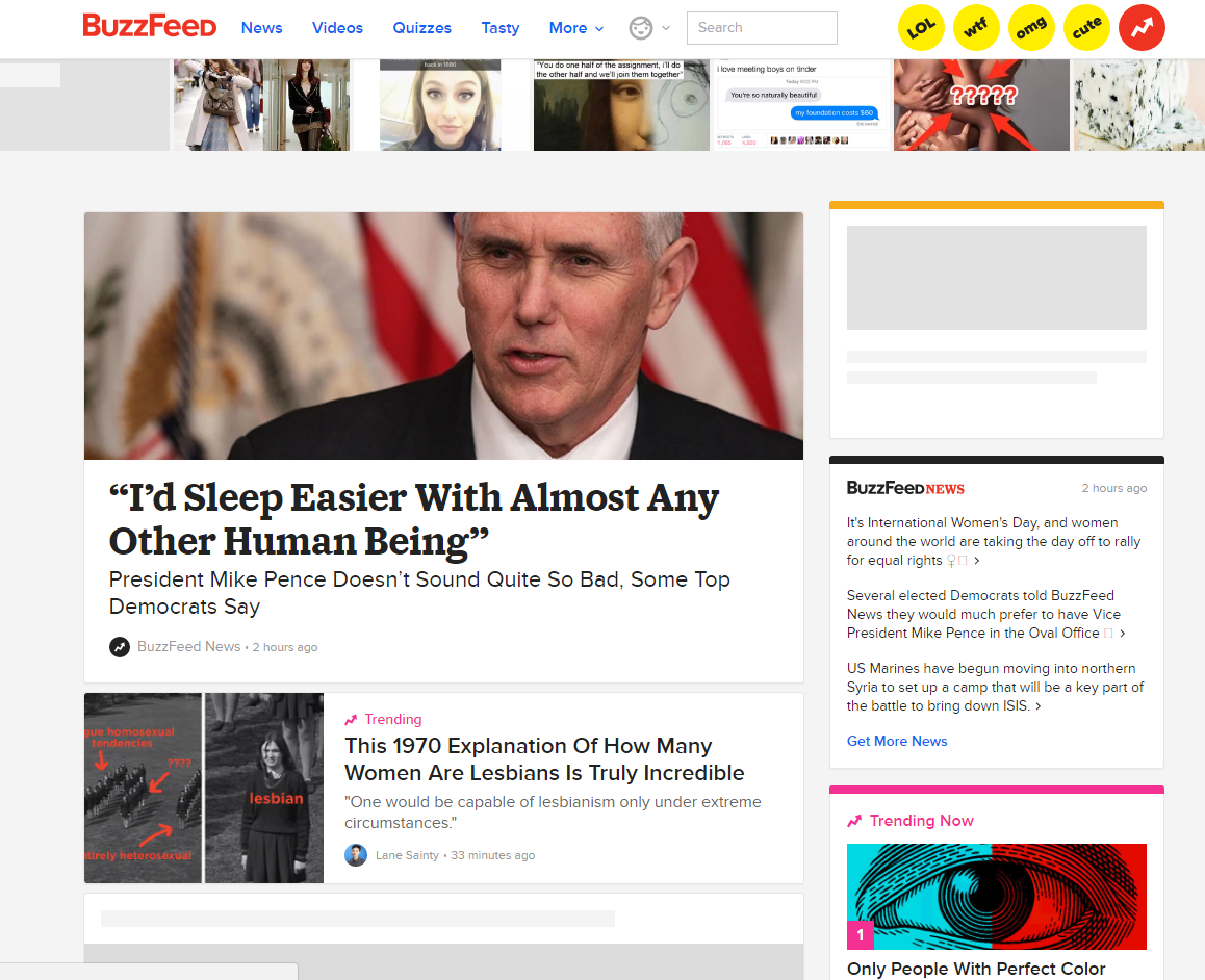 promote your blog using buzzfeed