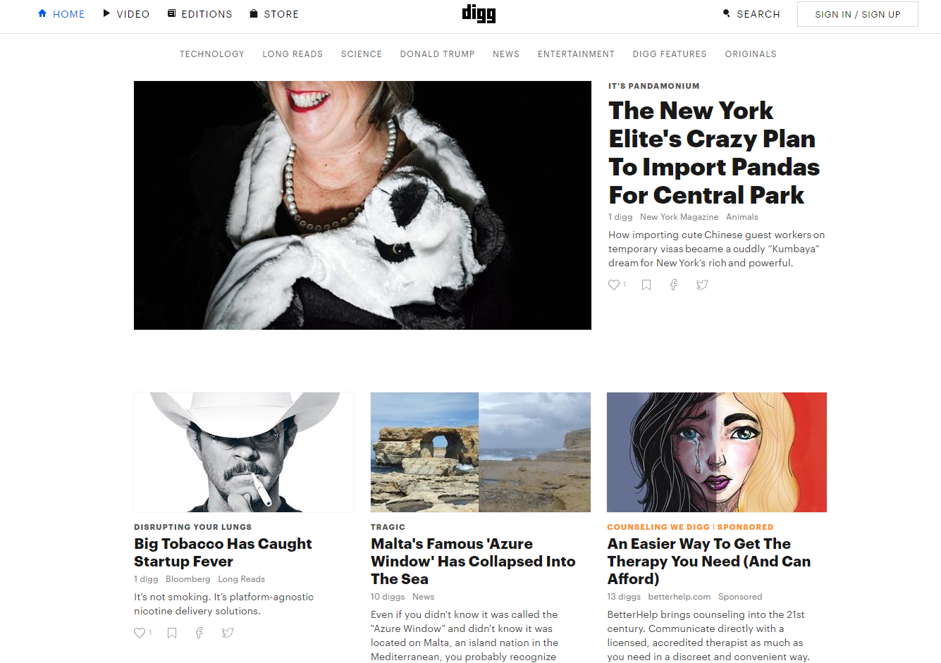 promote your blog using digg