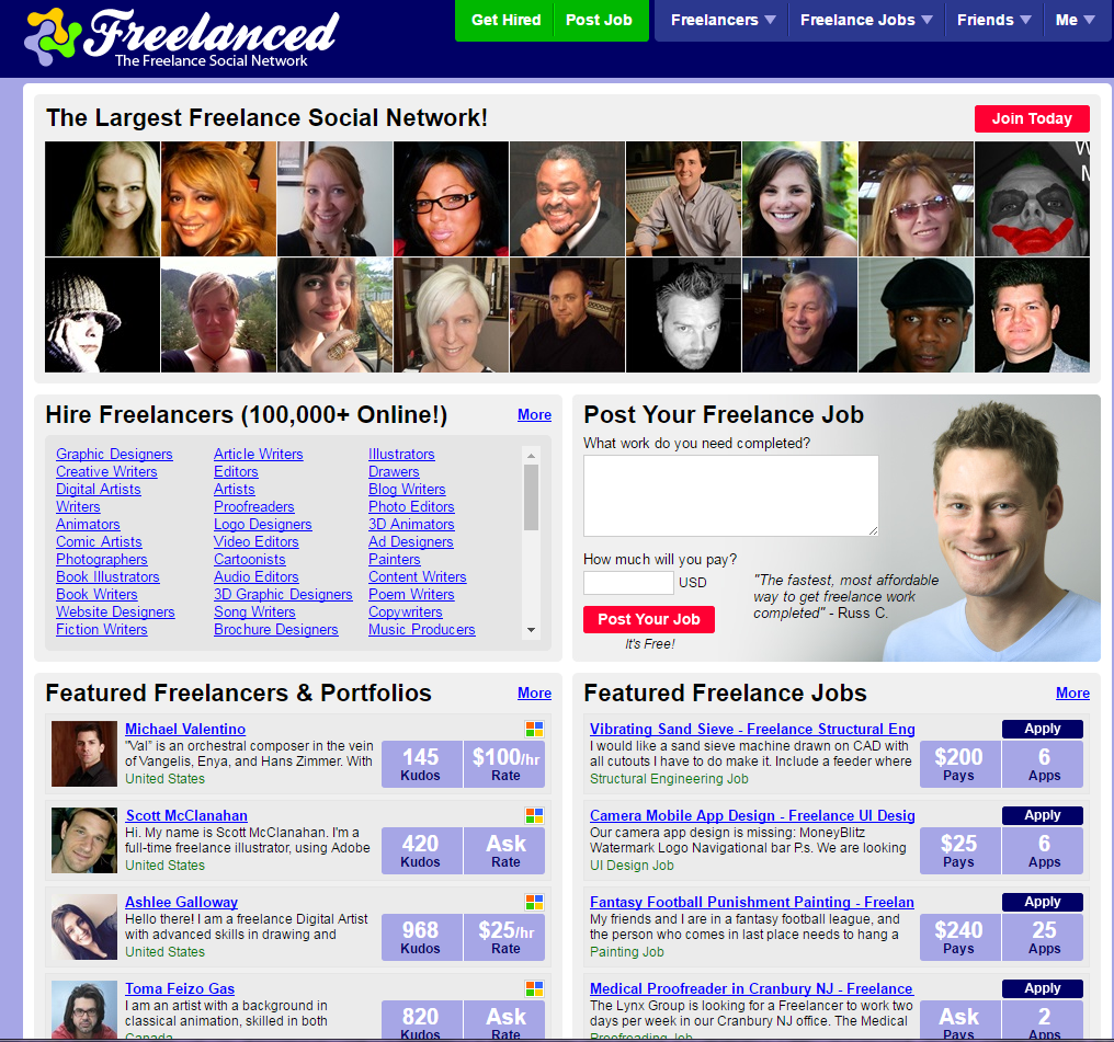 freelance websites freelanced