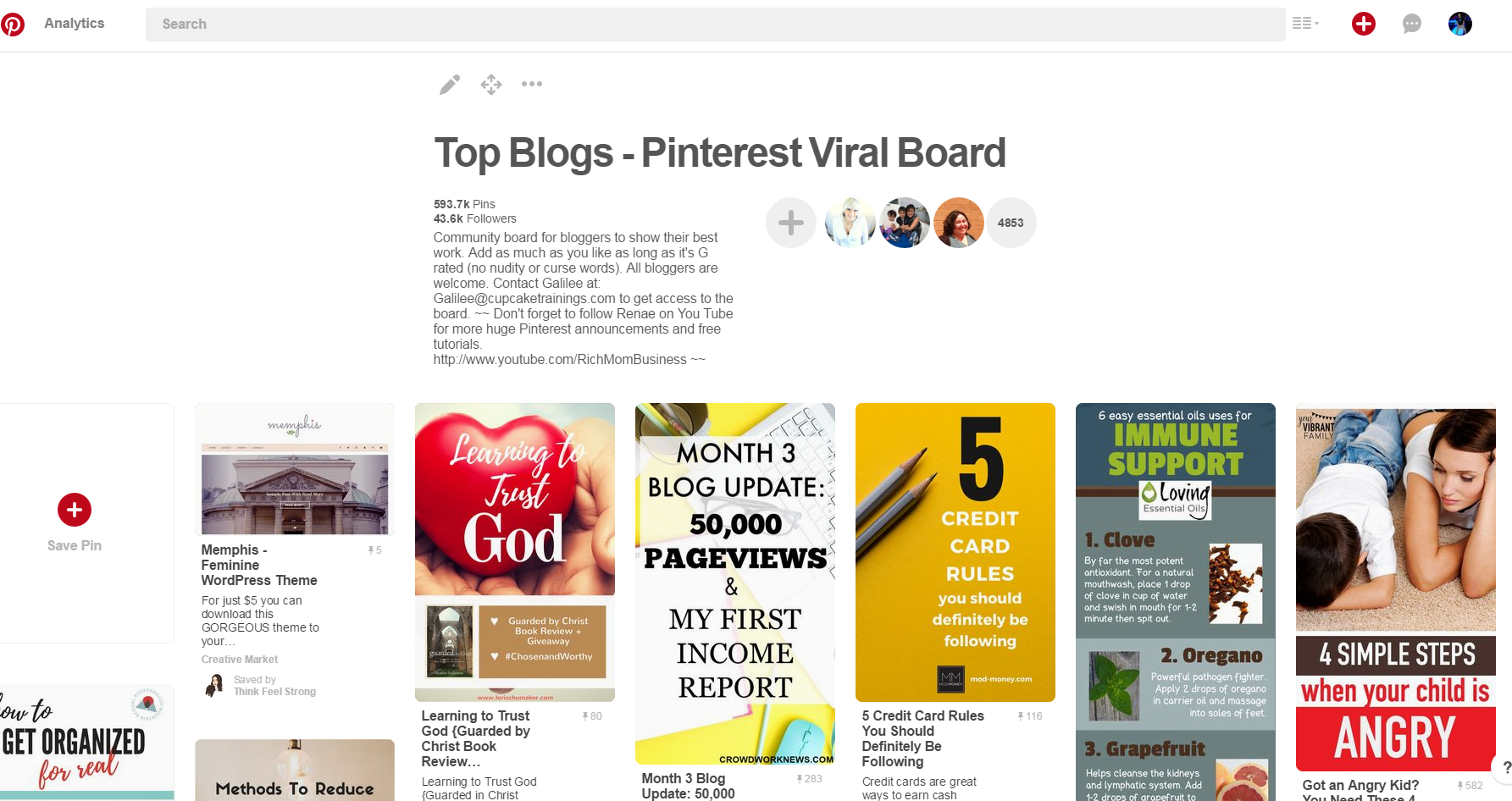 promote your blog using pinterest