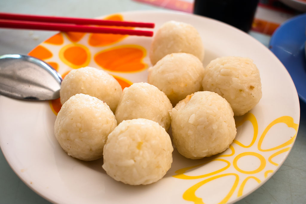 limbongan hailam kopitiam chicken rice ball