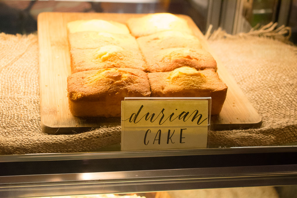 the daily fix cafe durian cake