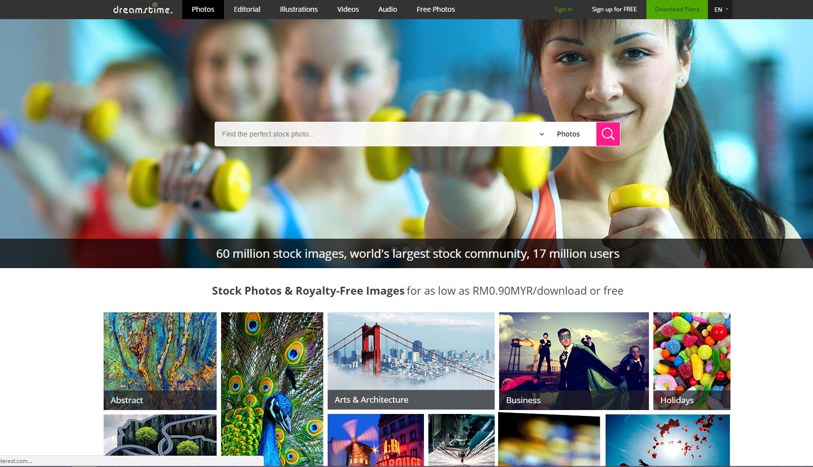 make money selling photos - dreamstime