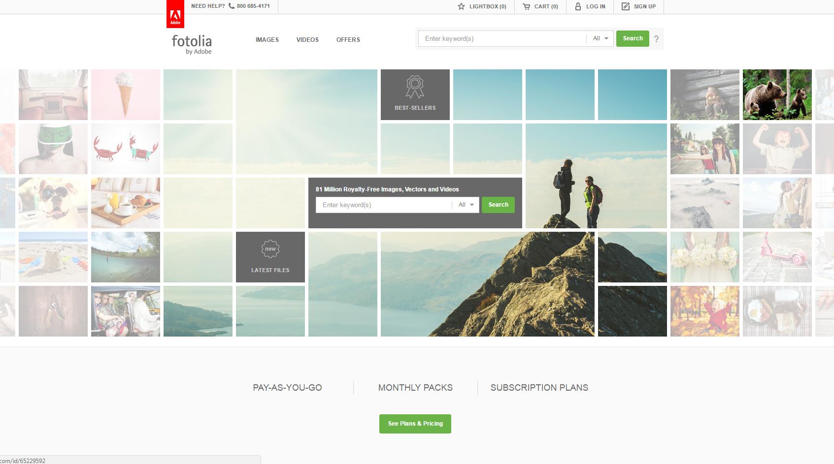 make money selling photos - fotolia