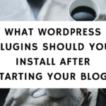 What WordPress Plugins Should You Install After Starting Your Blog-