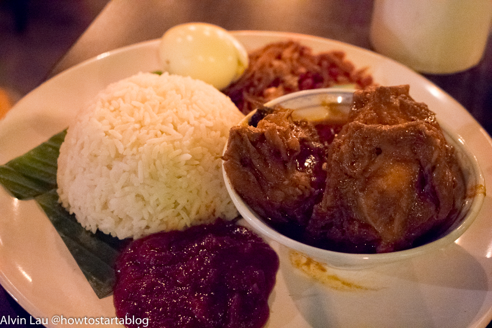 reminisce cafe mid valley megamall set meal