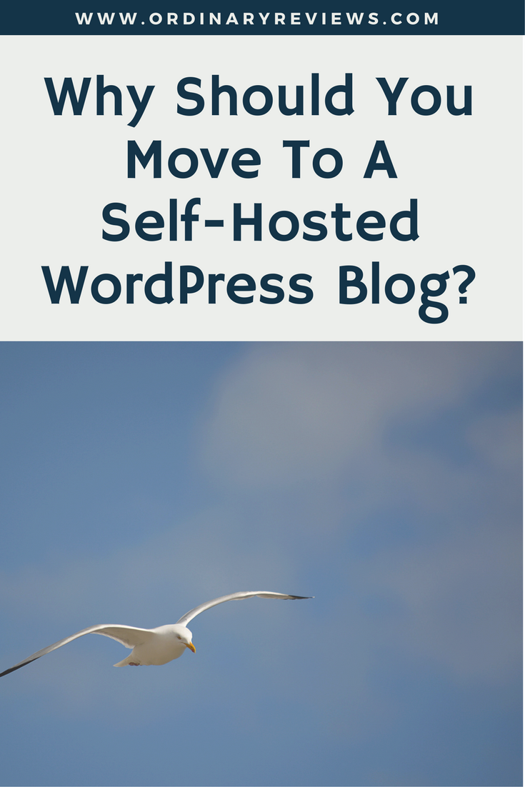 Why Should You Move To A Self-Hosted WordPress Blog-