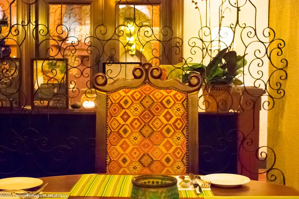 casa del rio melaka table