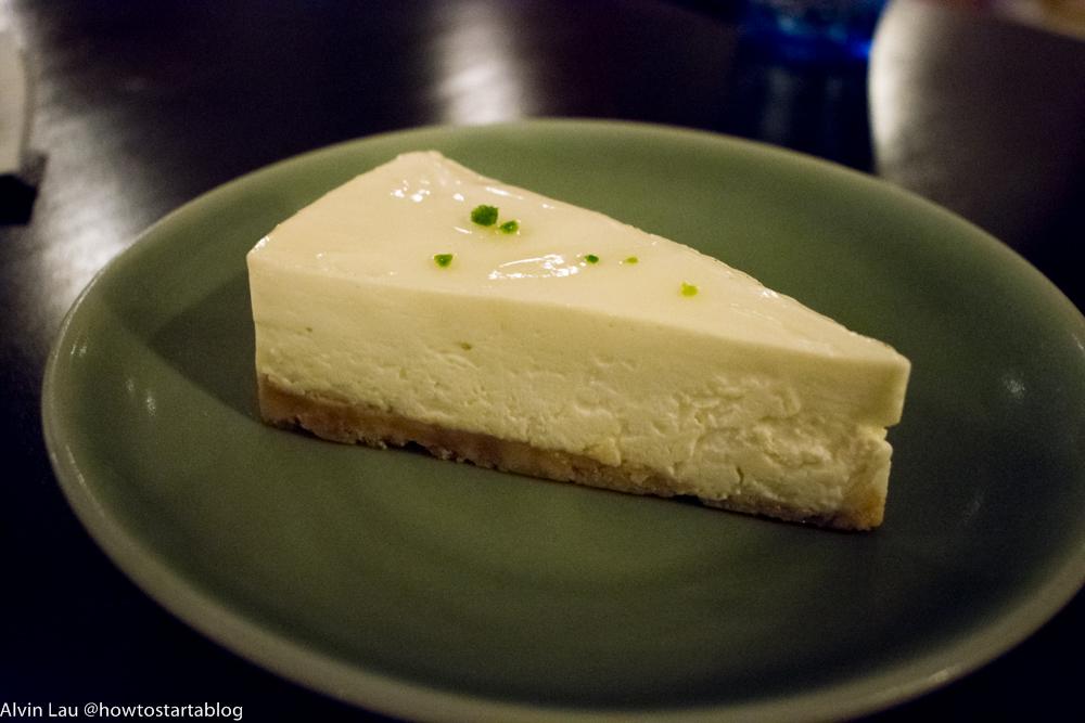 the peninsular cafeteria melaka cheese cake