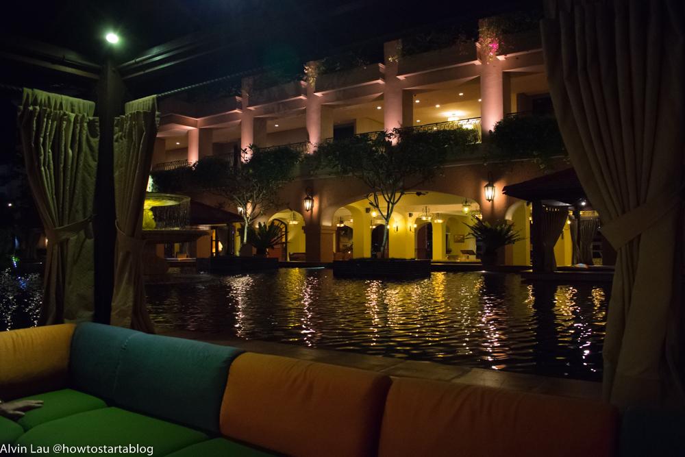 casa del rio melaka pool