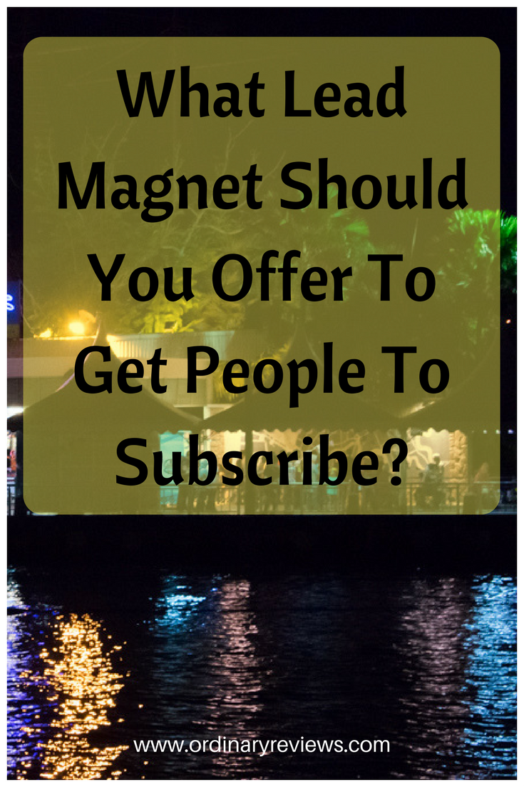 What Lead Magnet Should You Offer To Get People To Subscribe