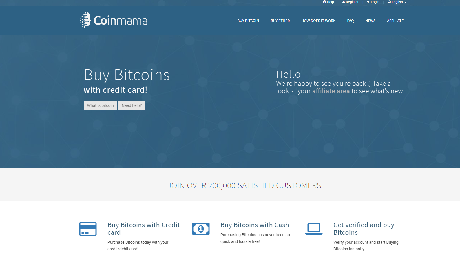 bitcoin referral programs coinmama