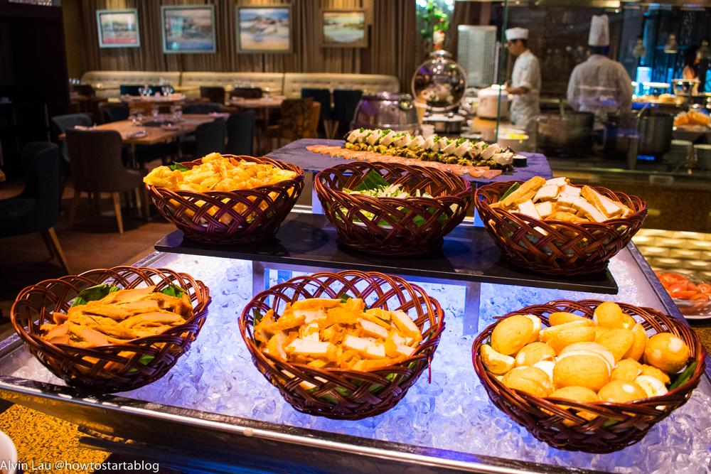 ramada plaza hotel buffet melaka review