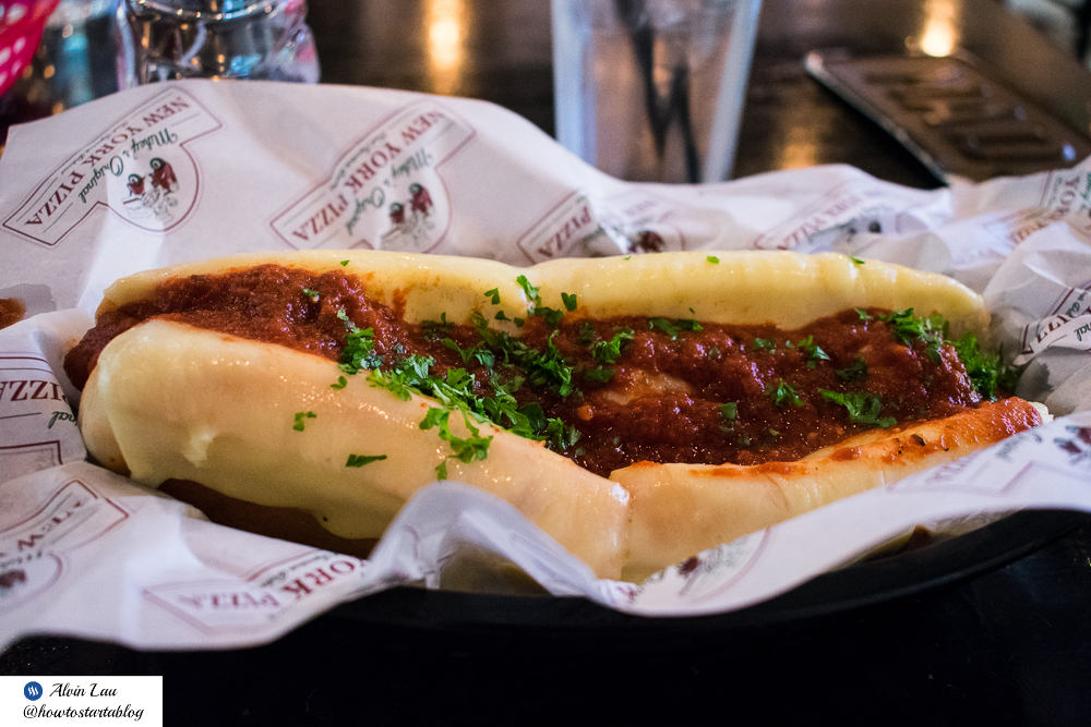 mikey's new york pizza midvalley meatball parmigiana