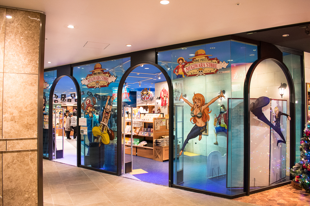 one piece store tokyo tower