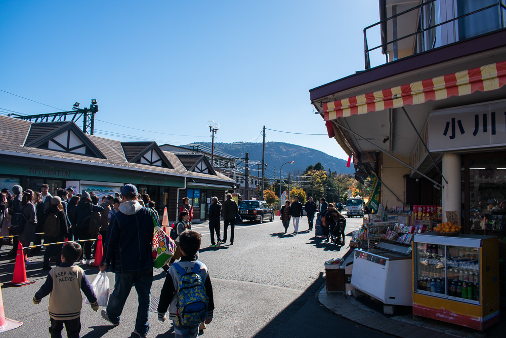 hakone counter-clockwise trip