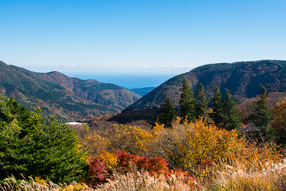 day trip to hakone in autumn