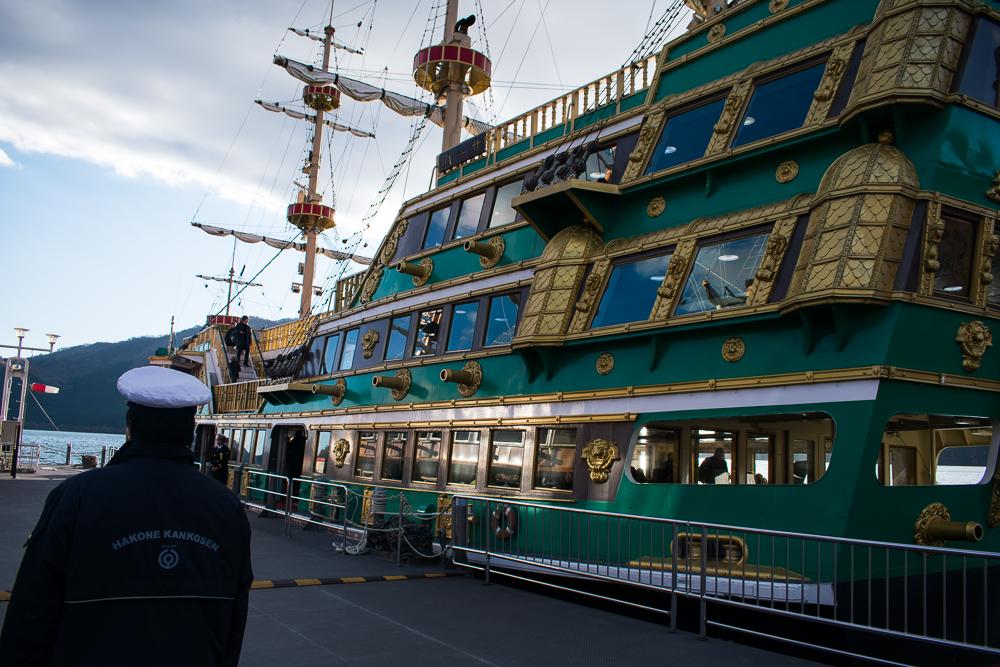 hakone cruise ship day trip