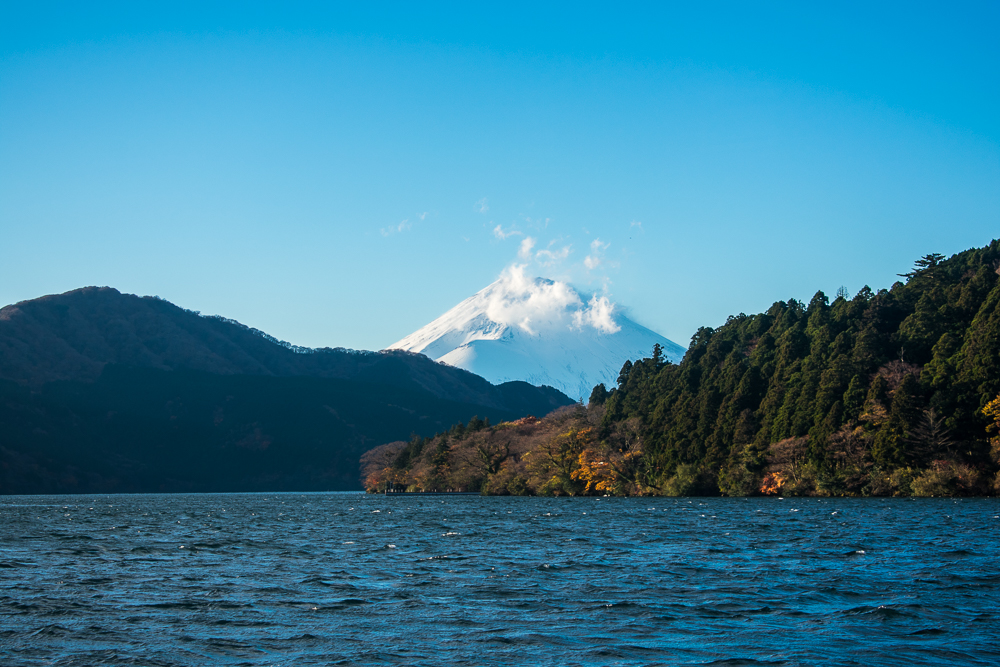 hakone day trip in autumn