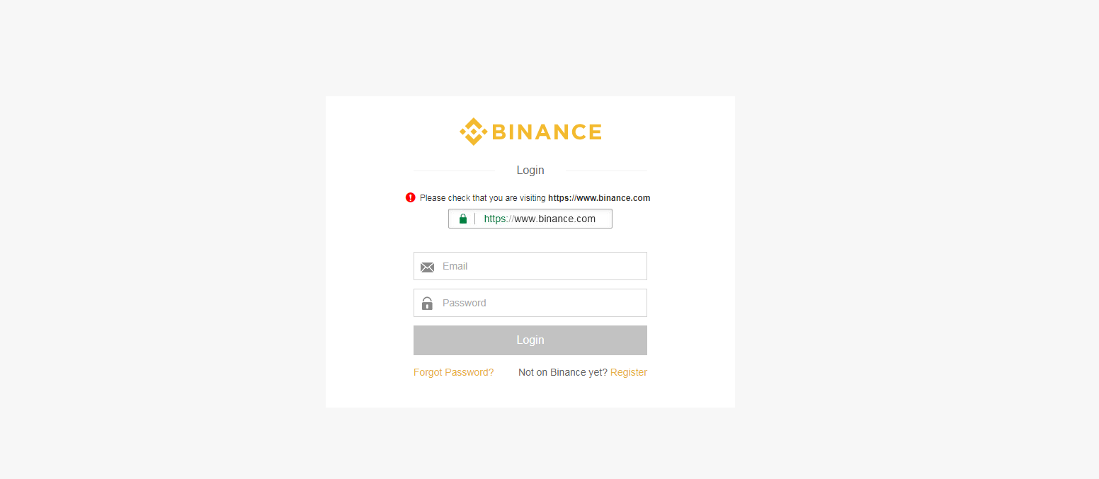 altcoin exchanges - binance