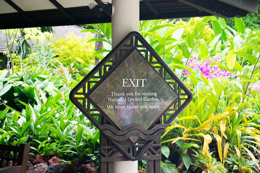 botanic gardens exit