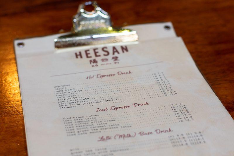 heesan cafe malacca