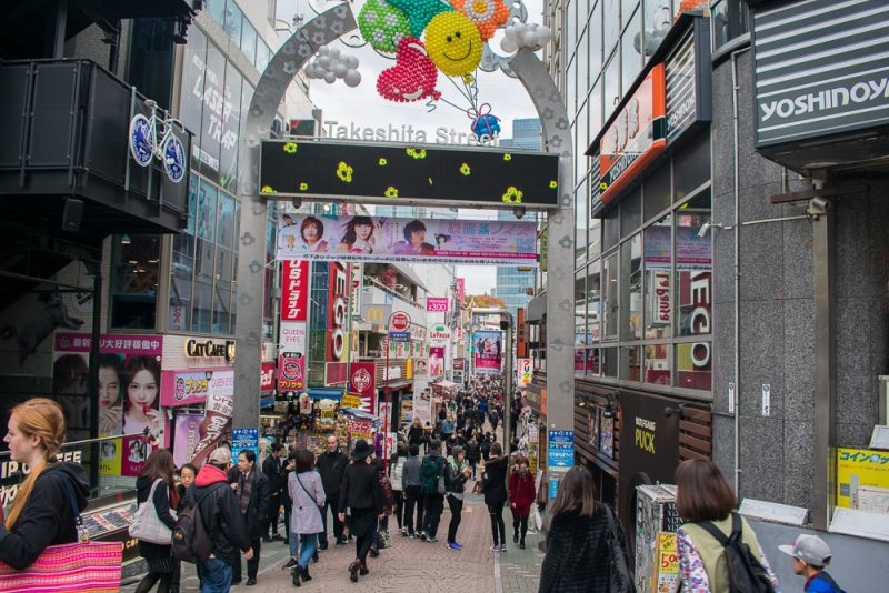 things to do in takeshita street (harajuku)