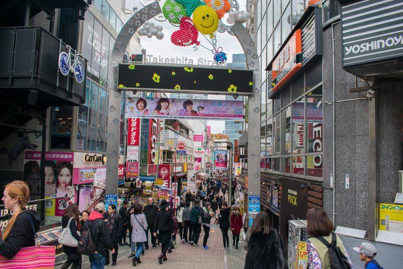 things to do in takeshita street (harajuku)