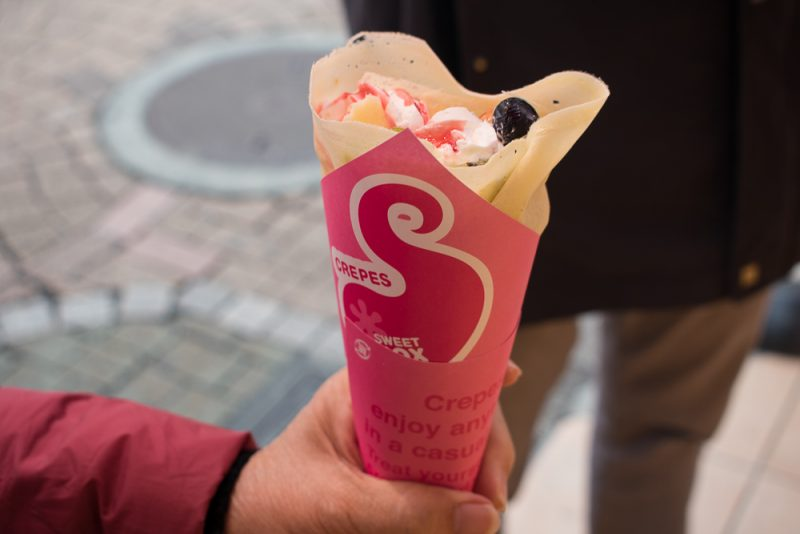 harajuku attractions - crepes