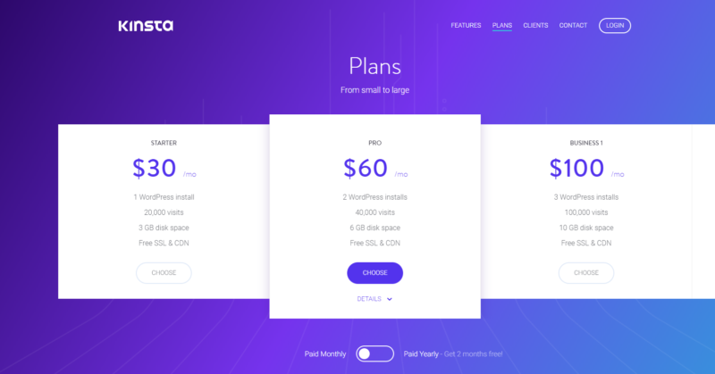review of kinsta wordpress hosting
