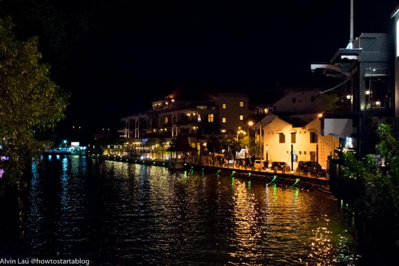 malacca attractions - melaka river