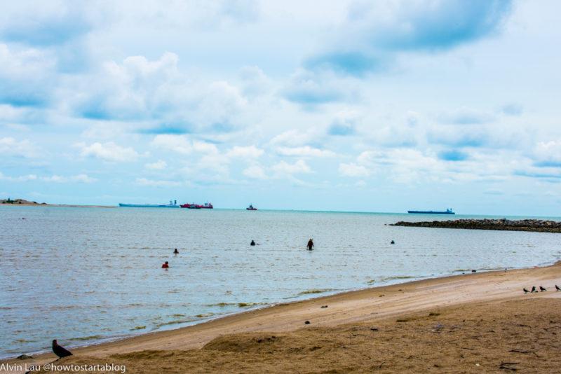 klebang beach malacca