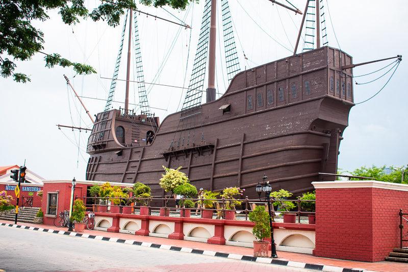 maritime museum melaka - attractions melaka