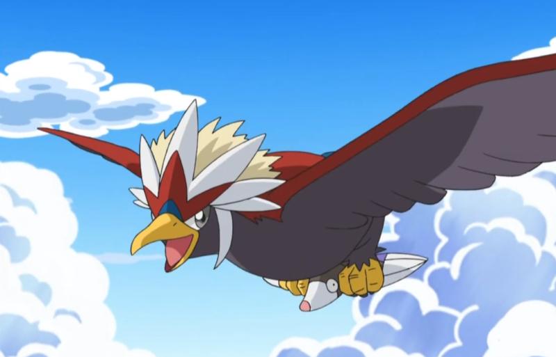 top flying type pokemon