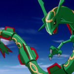 rayquaza - flying type