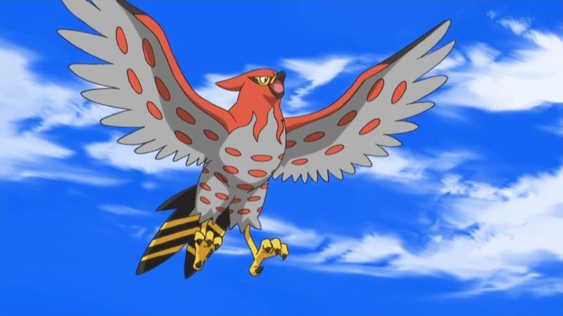 talonflame - flying pokemon