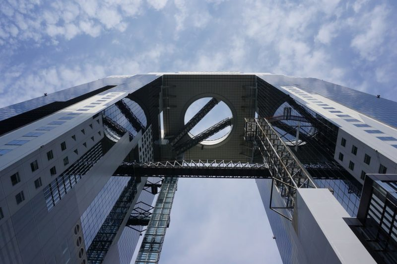 umeda sky building - osaka attraction