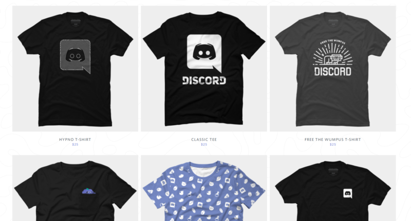 discord makes money selling merchandise