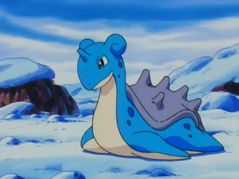 top water type pokemon