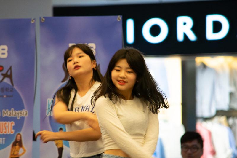 kpop performance melaka
