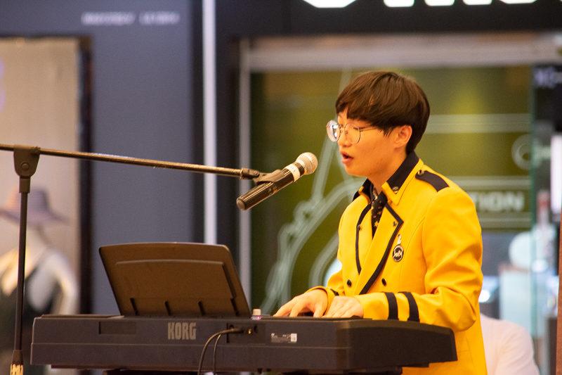 male singer School of Performing Arts Seoul