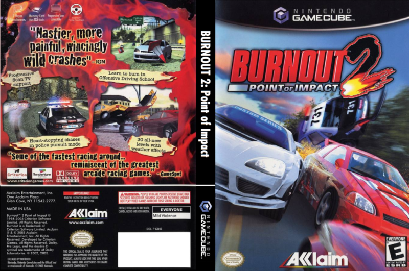 burnout 2 gamecube