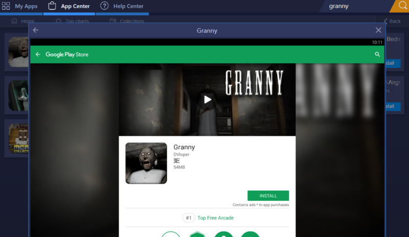 how to play granny on pc