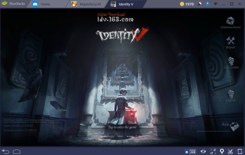 how to play identity v on pc