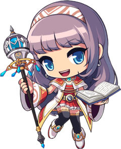bishop class maplestory mobile