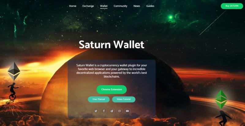 p3c - saturn wallet