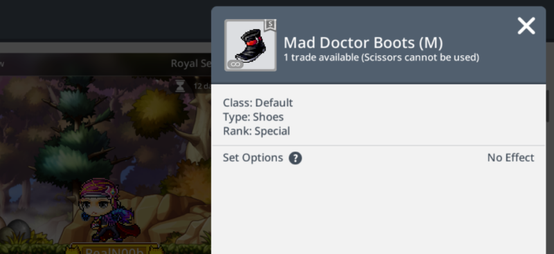 Mad Doctor boots